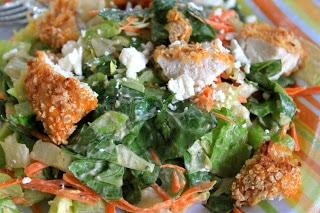 Buffalo Chopped Chicken Salad