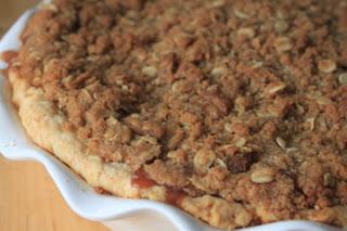 salted caramel apple crumble pie