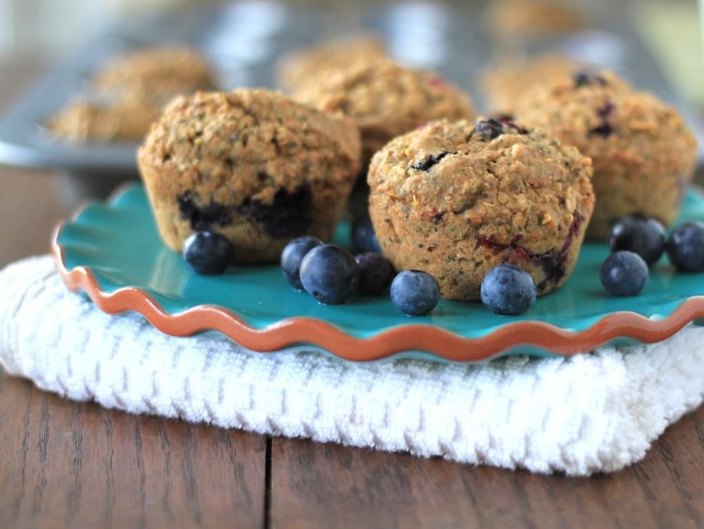 quinoa bluberry muffins2