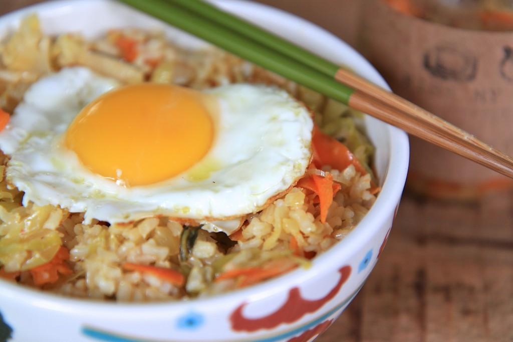 Kimchi Fried Rice   greens & chocolate
