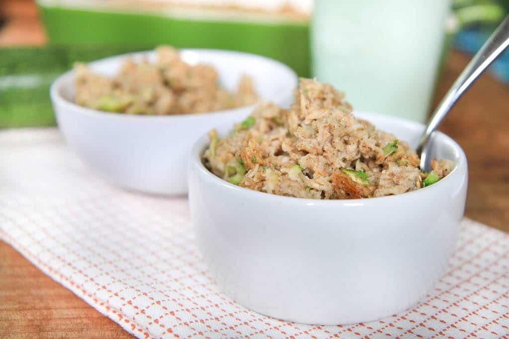 zucchini bread baked oatmeal-5