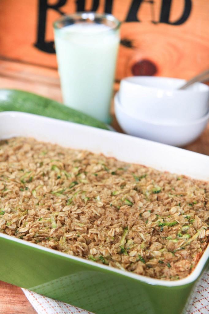 zucchini bread baked oatmeal