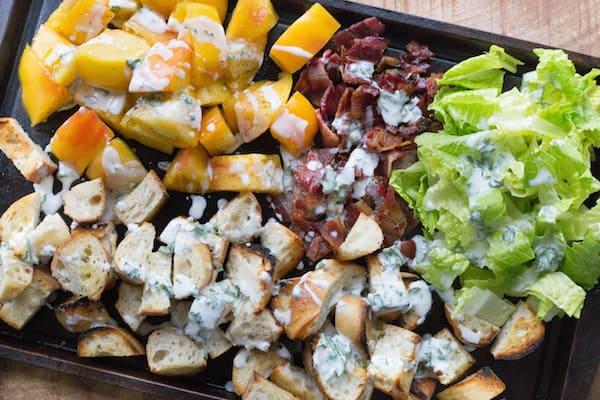 Grilled BLT Panzanella