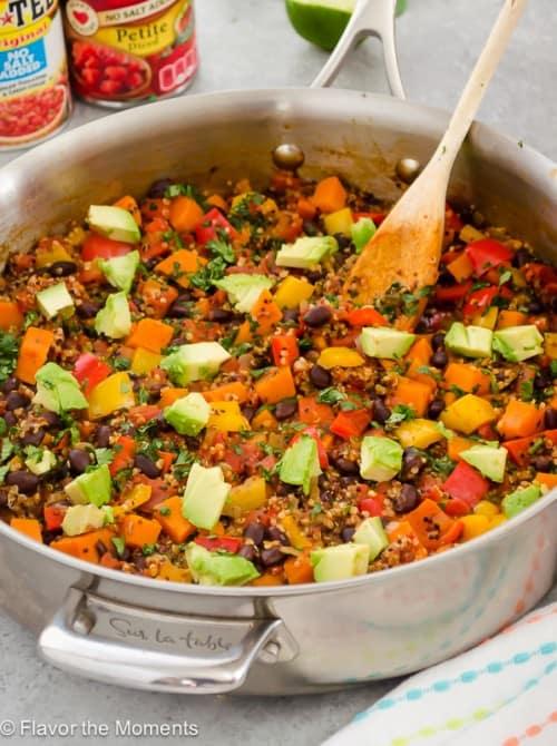 One Pot Mexican Black Bean Quinoa