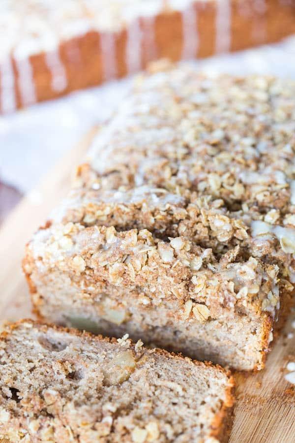 Cinnamon Apple Yogurt Bread