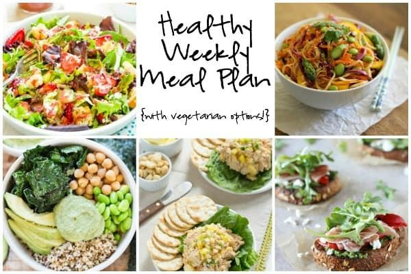 Healthy Weekly Meal Plan