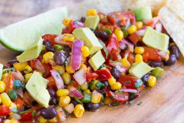 Chipotle Black Bean and Corn Salsa