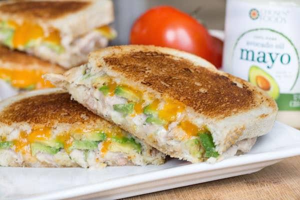 Avocado Tuna Melt-5