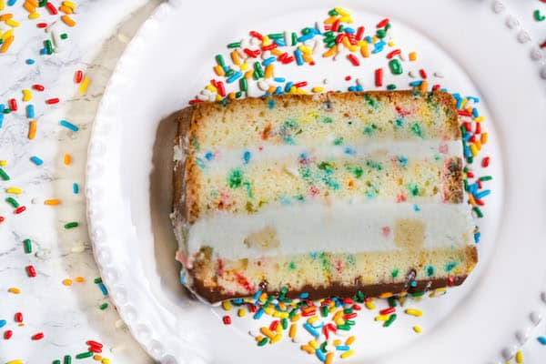 Funfetti Ice Cream Cake