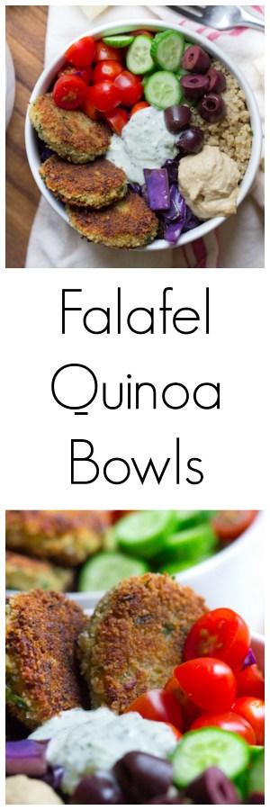 Falafel Quinoa Bowls