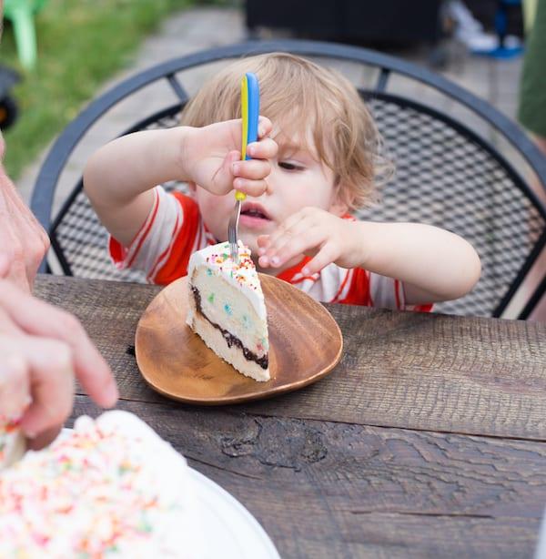 Funfetti Ice Cream Birthday Cake
