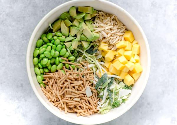 Crunchy Asian Chopped Kale Salad