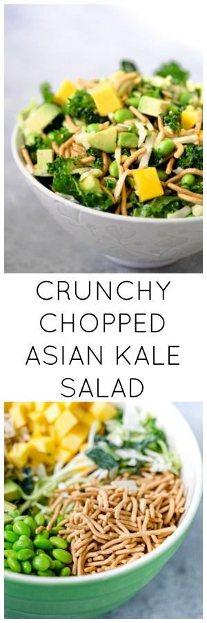 Crunchy Chopped Asian Kale Salad