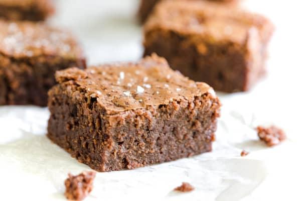 Brown Butter Sea Salt Brownies