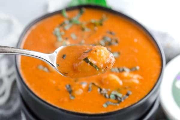Creamy Tomato Gnocchi Soup