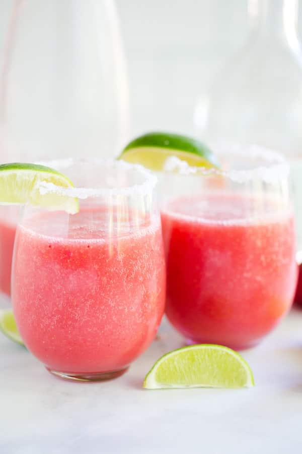 Strawberry Frosé Margaritas