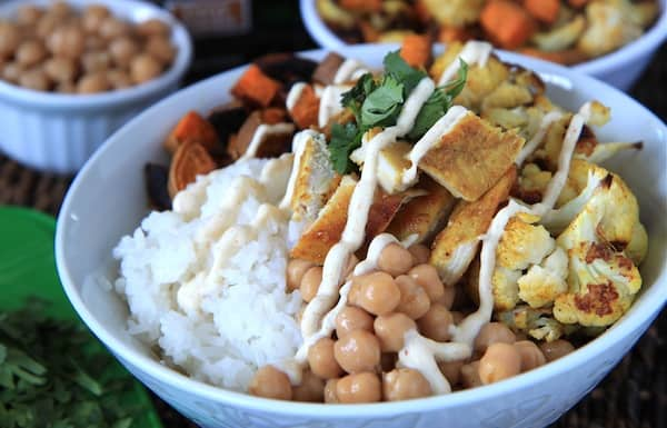 Indian Chicken Curry Bowls