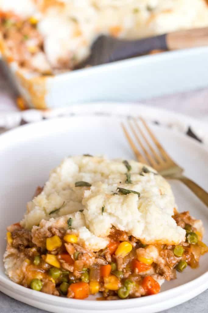 Cauliflower Shepherd's Pie