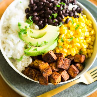 Taco Tofu Rice Bowls