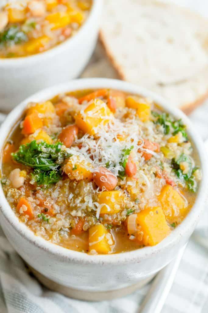 Instant Pot Quinoa Minestrone