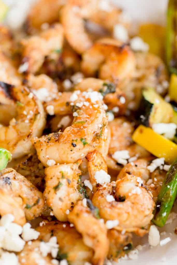 Grilled Mediterranean Shrimp