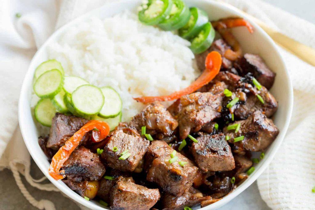 Grilled Korean Steak - Summer Freezer Meal